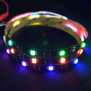 [NS-LED-ST-030]Rainbow STRIP double addhesive Tape / 1m 30LEDs